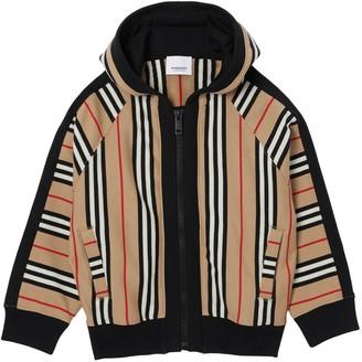 Burberry Icon Striped Cotton Loop Sweatshirt