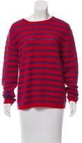 Stella Jean Virgin Wool Striped Sweater