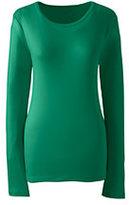 Classic Women's Plus Size Shaped Cotton Crewneck T-shirt-Gemstone Teal