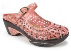 White Mountain Marvy Peep Toe Mules Women's Shoes