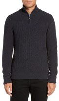 Vince Camuto Quarter Zip Sweater