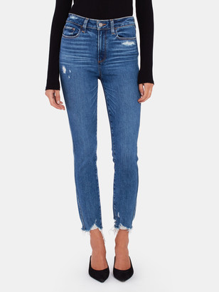 Paige Hoxton High Rise Skinny Ankle Jeans