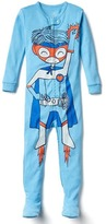 Gap Superhero footed sleep set