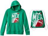 Puma Boys 8-20 Mexico Hoodie & Carry Sack