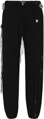 R 13 Multi-Drawstring Detail Track Pants