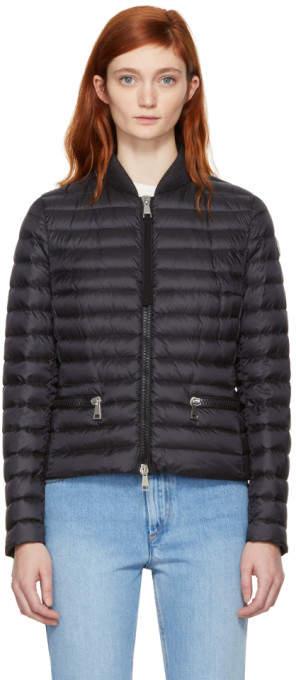 Moncler Black Down Blen Jacket