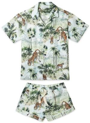 Desmond & Dempsey Cuban Pyjama Set