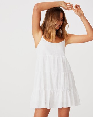 Supre Mila Strappy Tiered Dress
