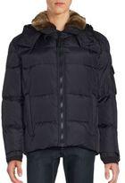 S13/Nyc Matte Jackson Faux Fur-Trimmed Jacket