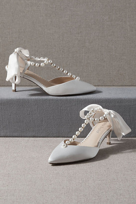 Bella Belle Lucia Heels By in White Size 7