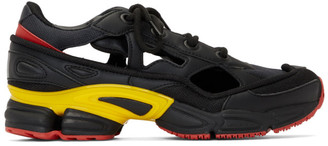 Raf Simons Black and Grey adidas Originals Edition RS Replicant Ozweego Sneakers