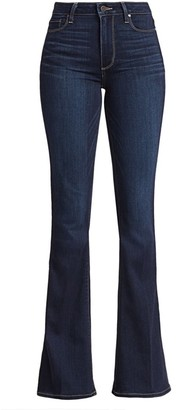 Paige Bell Canyon High-Rise Flare Jeans
