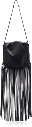 Bottega Veneta The Fringe Leather Crossbody Bag