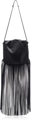 Bottega Veneta The Fringe Pouch Leather Bag