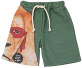 Madson Discount Animal Hero Printed Cotton Blend Shorts