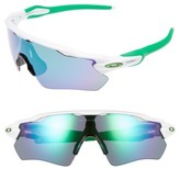 Oakley Women's Radar Ev Path 50Mm Sunglasses - White/ Jade Iridium