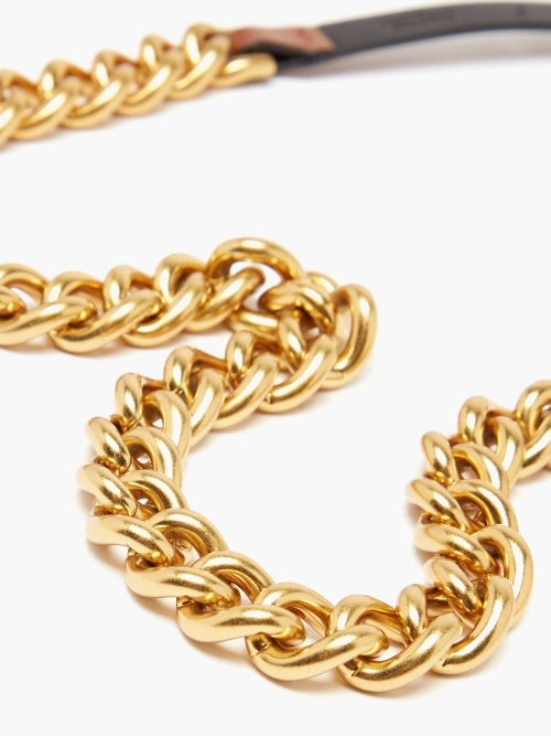 Thumbnail for your product : Zimmermann Chain And Leather Belt - Brown Multi
