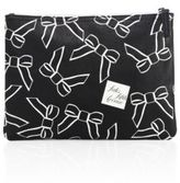 Saks Fifth Avenue Collection Large Saffiano Faux-Leather Bow Pouch