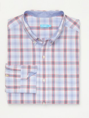 J.Mclaughlin Carnegie Classic Fit Performance Shirt in Plaid