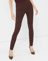 White House Black Market Suede Leggings