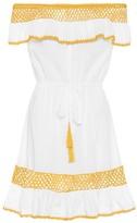 Anna Kosturova Cee Zee cotton minidress