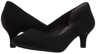 Rockport Total Motion Kalila Pump (Black Suede) High Heels