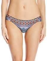 Jessica Simpson Women's Versailles Side Shirred Hipster Bikini Bottom