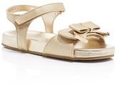 MICHAEL Michael Kors Girls' Marsha Kiera Bow Sandals - Toddler