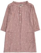 Imps & Elfs Polka Dot Button-Up Dress