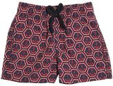 Vilebrequin Anchors Print Nylon Swim Shorts
