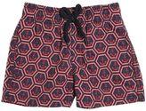 Vilebrequin Anchors Print Nylon Swim Shorts