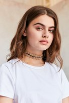 Urban Outfitters Pacey Rainbow Hemp Choker Necklace