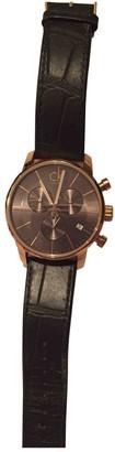 Calvin Klein Pink Steel Watches