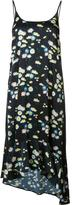 Paco Rabanne daisy print slip dress - women - Spandex/Elastane/Viscose - 38