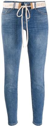 Liu Jo Skinny Cropped Jeans