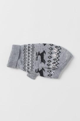 H&M Jacquard-knit Dog Sweater