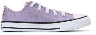 Converse Kids Chuck Taylor All Star Metallic Ox Trainers