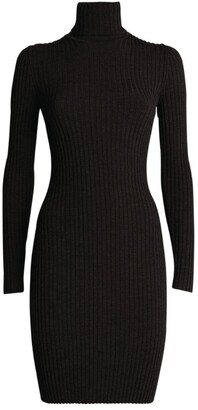 Wolford Ribbed Knit Midi Dress