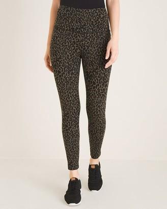 Zenergy So Slimming Cheetah-Print Leggings