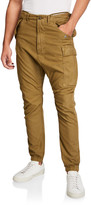 R 13 Men's Tapered Military Cargo Pants