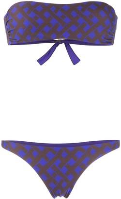 Fisico Strapless Bikini Set