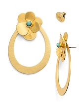 Tory Burch Flower Petal Statement Earring