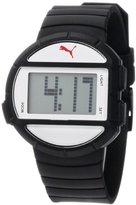 Puma Women's PU910892003 Half-Time Small Digital Black White Watch