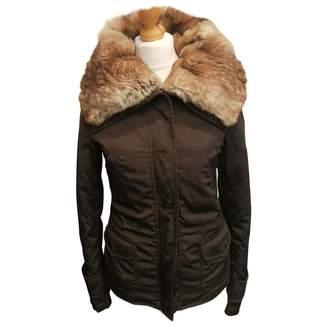 Blauer Brown Polyester Jackets