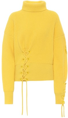 MONCLER GENIUS 1 MONCLER JW ANDERSON wool and cashmere sweater