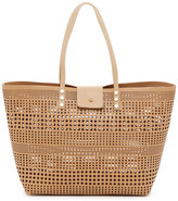 BCBGMAXAZRIA Perforated Tote Bag