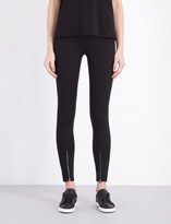 Helmut Lang Skinny stretch-crepe trousers