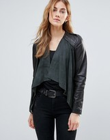 Muu Baa Muubaa Waterfall Leather Jacket