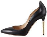 Valentino Extreme Heel Nappa Pump, Black