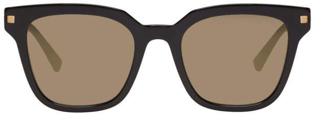 Mykita Black Yuka Sunglasses